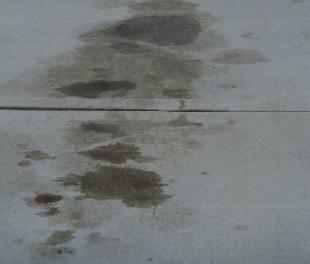 Oil Repellent Concrete Sealer